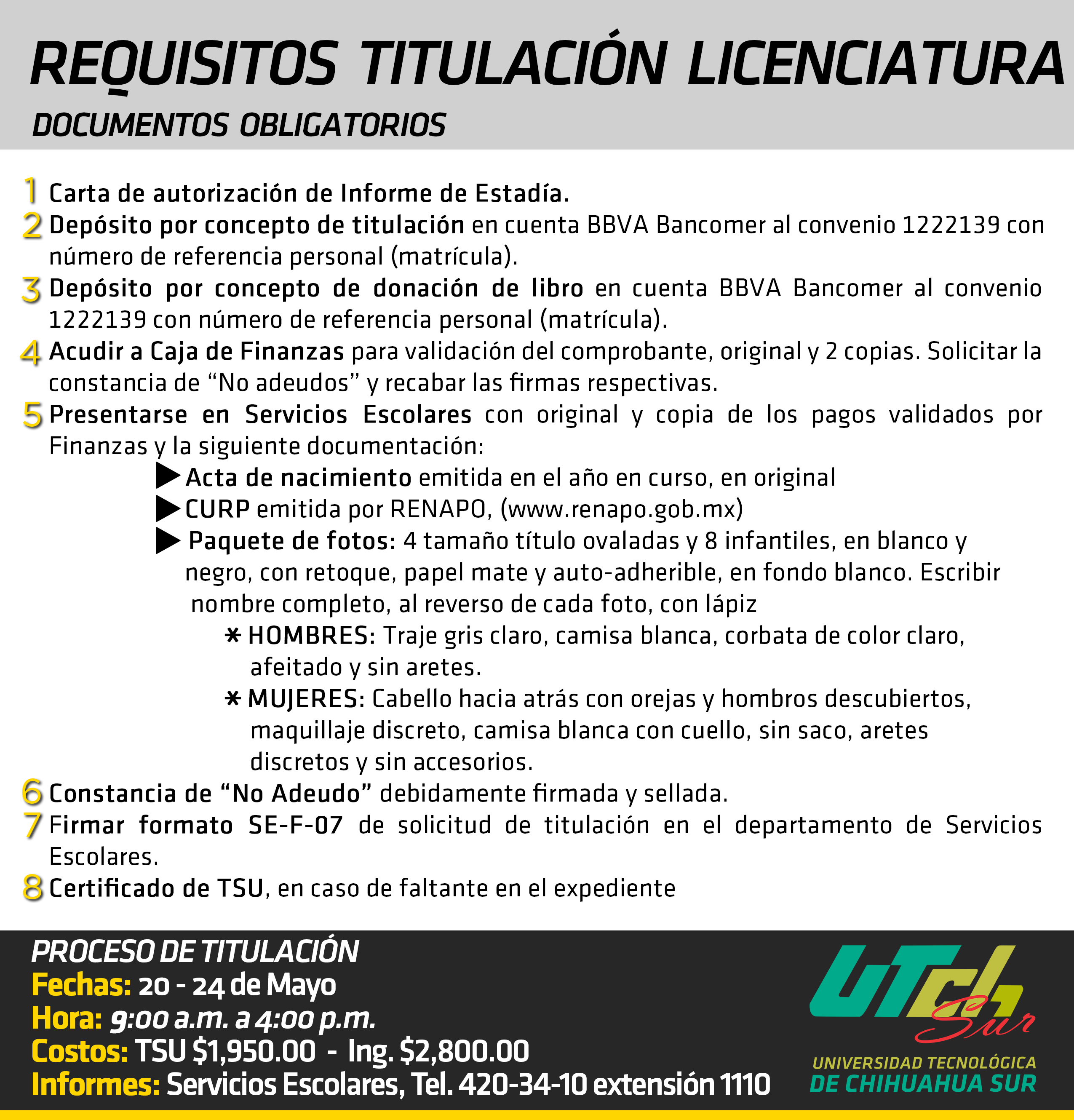 requisito LIc